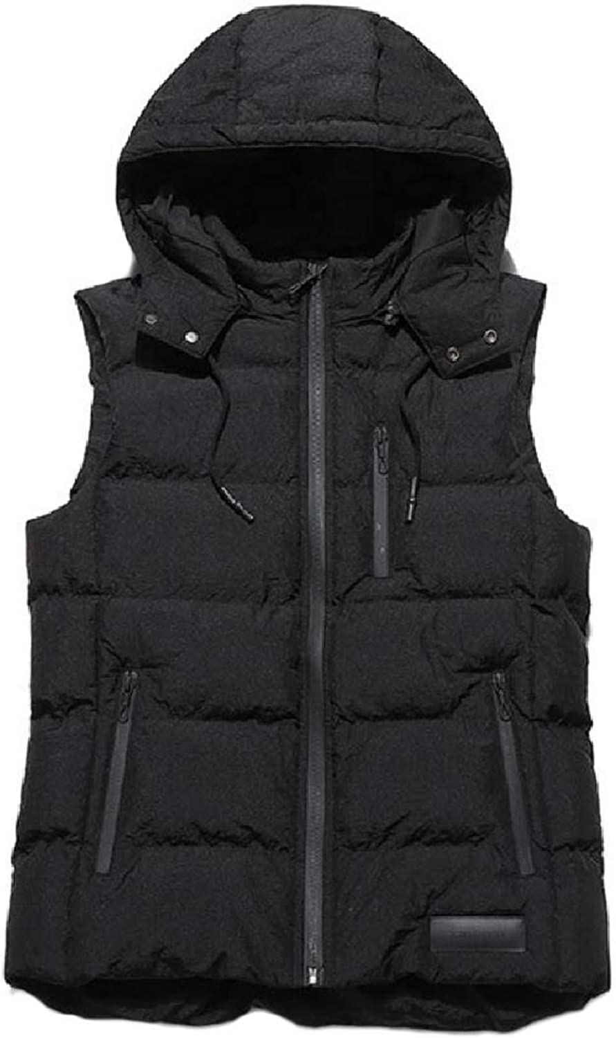Winme Mens Ultra Lightweight Quilted Packable Winter Puffer Vest