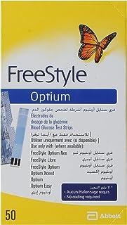 Freestyle 50 Optium Neo Blood Glucose Monitor Test Strips