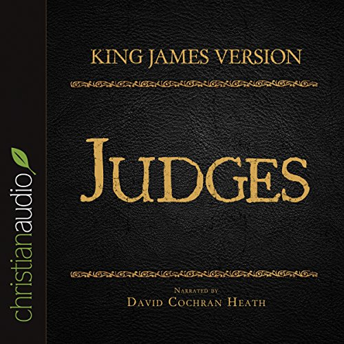 Holy Bible in Audio - King James Version: Judges audiobook cover art