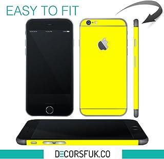 decorsfuk.co iPhone 6Amarillo Piel/iPhone 6dodoskinz–sólo para la Parte Trasera de teléfono–Apple dodoskinz/iPhone mobifox/iPhone Pegatinas