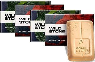 Wild Stone Soap Combo (3+1) for Men (75 g Each)