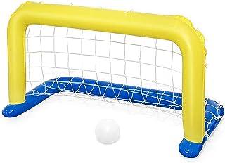 SANGDA Puerta Inflable para el Voleibol de Piscina, para niños, Piscina Inflable, Flotador para la Isla, Juguetes de Playa, Juguete de Fiesta