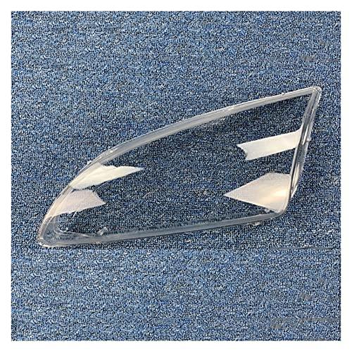 JDJD Faro De Coches Faro De Cabeza Clear Faro Faro Lente Borrar Lente Borrar Fit For Ford Focus 05-08 (Color : Clear, Size : A Pair)