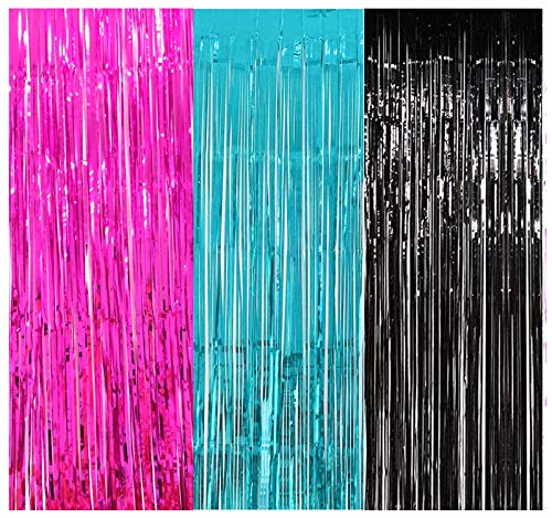 cortina fucsia de la marca Furuix
