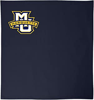 Promoversity NCAA Marquette Golden Eagles 成人运动衫毛毯,127cm x 152.4cm,*蓝
