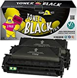 Yellow Yeti Q7553X 53X (7000 páginas) 2X Tóner Compatible para HP Laserjet P2014 P2014n P2015 P2015d P2015dn P2015dtn P2015n P2015x M2727nf M2727nfs MFP Canon LBP-3310 LBP-3370 [3 años de garantía]