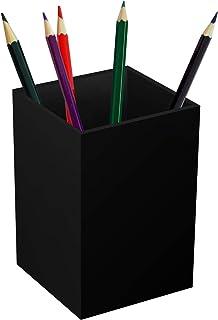 نگهدارنده قلم اکریلیک Beitiny برای میز ، سازمان دهنده مداد سیاه ، دفتر مداد ذخیره سازی قلم مداد دفتر لوازم التحریر رومیزی