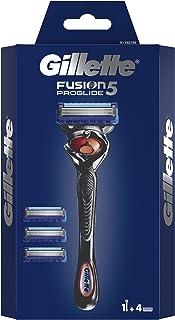 Gillette Fusion 5 ProGlide scheerapparaat voor heren met trimmermesje voor precisie en glijcoating, scheerapparaat + 4 sch...