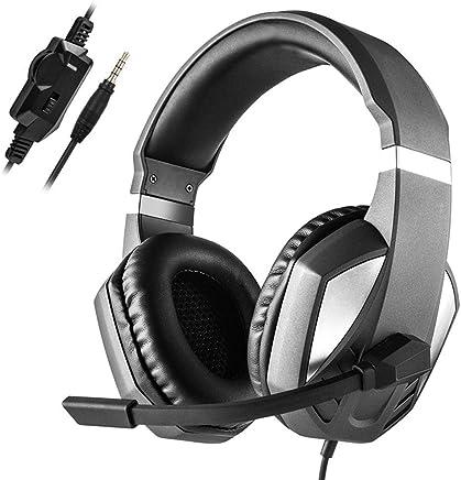 Tenlso - Cuffie da Gioco per Xbox One/PS4/Nintendo Switch, con cancellazione del Rumore HD, Cuffie Stereo da Gioco con Morbidi paraorecchie/Controllo del Volume/Microfono per PC, Laptop, Colore Nero - Trova i prezzi più bassi