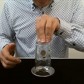 「うらら トリック」 手品 グッズ グラスを通りぬけるコイン マジック (うららトリック制作・説明動画付)