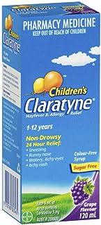 Claratyne Childrens Grape Flavour 120 ml