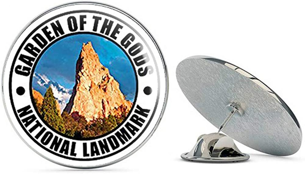NYC Jewelers Round Garden of The Gods National Landmark (co Colorado rv) Metal 0.75