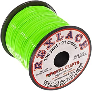 Pepperell Crafts Rexlace – 100 Yard Spool in Apple Green