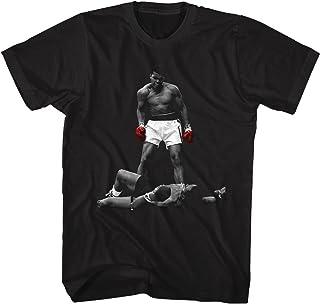 تي شيرت أسود للبالغين مطبوع عليه Muhammad Ali Whabam