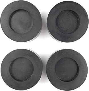 Ximoon Washing Machine Rubber Feet Pads - Anti Vibration & Anti Walk Rubber Dampers for All Washers and Dryers - Set of 4 Rubber Pads