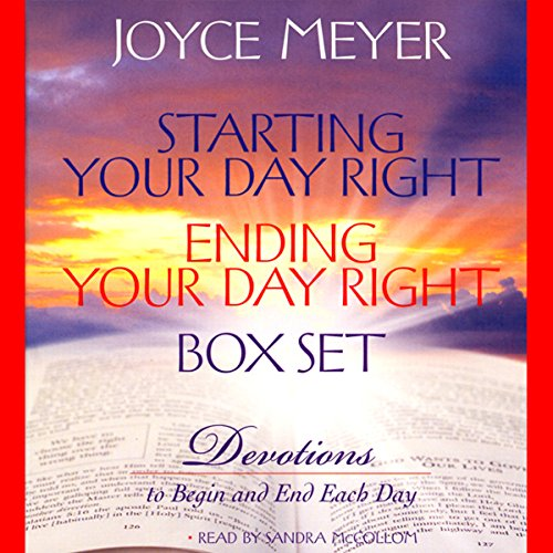 Starting Your Day Right/Ending Your Day Right Box Set audiobook cover art