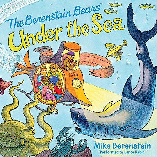 Berenstain Bears Under the Sea cover art