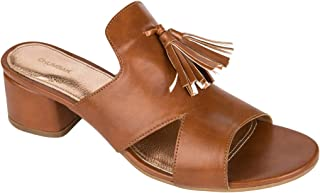 Chumbak Tassel Embellished Block Heels