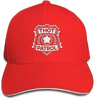 Klassisch Thot Patrol is On The Case Baseball Caps Adjustable Sandwich Baseball Hat