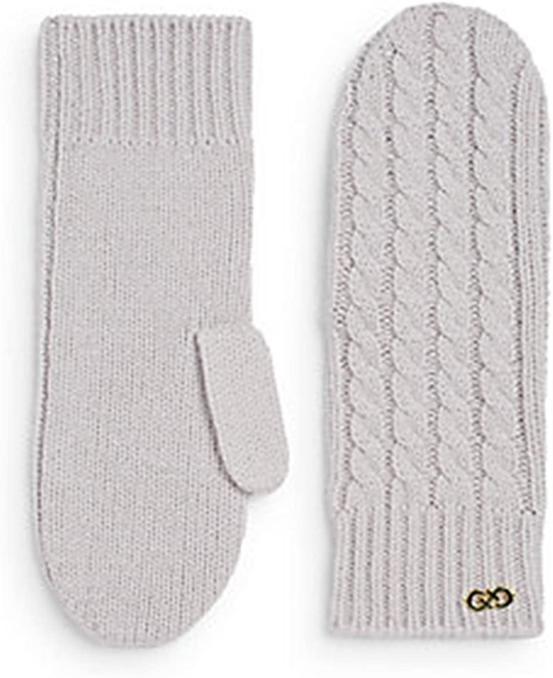 Cole Haan Women's Cable Knit Mittens, Grey