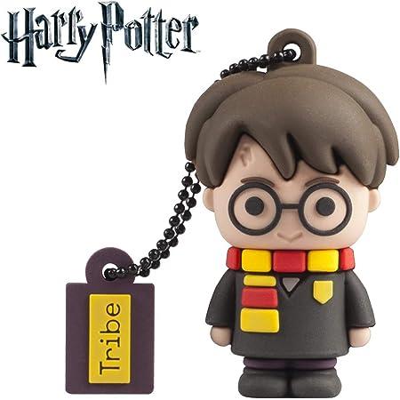 Tribe - Chiavetta USB 16 GB Harry Potter - Memoria Flash Drive 2.0, Personaggio Saga Harry Potter, Pennetta USB Compatibile con Windows, Linux e Mac