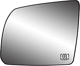 Fit System 33246 Toyota Sequoia SR5/Tundra/Tundra SR5 Model Left Side Heated Power Replacement Mirror Glass with Backing Plate