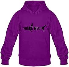 JJTD Shark Week Cute Roundneck Long Sleeve Hoodie For Guys