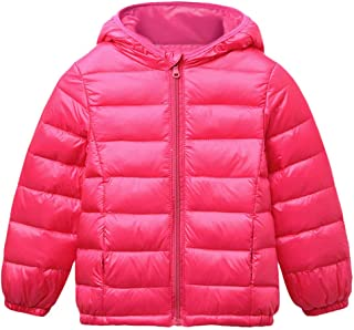 Winter Coats for Kids with Hoods Light Jacket for Baby Boys Girls, Infants, Toddlers