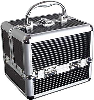 U7037 – Aluminium Kosmetikkoffer, Schminkkoffer, Beautycase, Makeupbox – 4x..