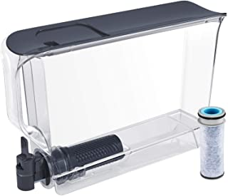 Brita UltraSlim Dispenser with 1 Stream Filter-BPA Free, Extra Large 25 Cup, Slate