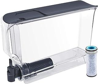 Brita Distributeur ultra-fin avec 1 filtre à flux extra large 25 tasses Noir