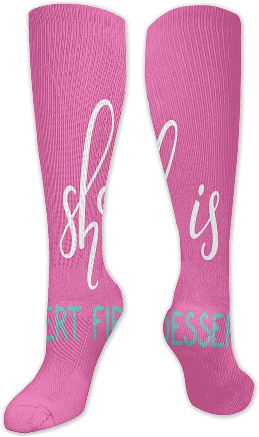 Compression Socks for Max 43% OFF WomenMen Knee High Size(50C trend rank One Sock