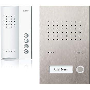 Ritto RGE1818325 Acero pur Audio-Set Freisprechstelle 1 WE, inkl 50 +Punkte