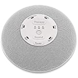 HoMedics Deep Sleep Mini Portable Sleep Sound Machine | 3 Programs, 3 White