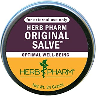 Herb Pharm Original Salve with Comfrey and St. John's Wort - 24 Grams