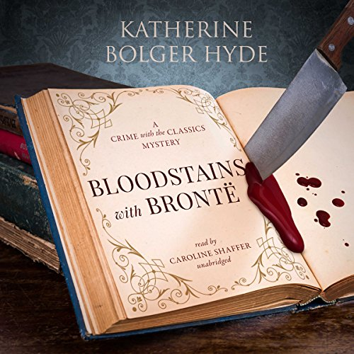 Bloodstains with Brontë audiobook cover art