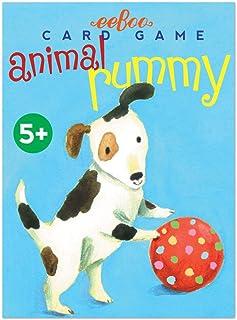 eeBoo Animal Rummy Card Game for Kids