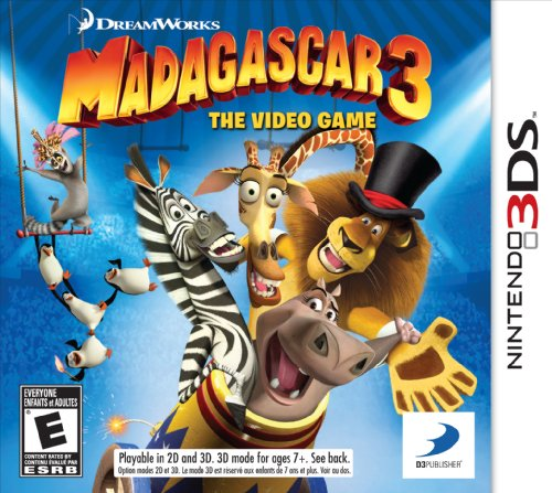 Madagascar 3: The Video Game - Nintendo 3DS