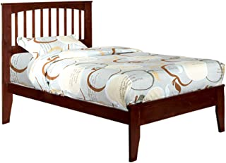 Furniture of America Cellini Cherry Platform Bed, Twin