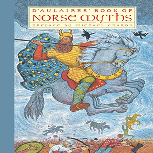 D'Aulaires' Book of Norse Myths cover art
