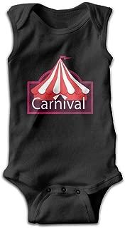 Baby Sleeveless Bodysuits Carnival Park Unisex Cute Lap Shoulder Onesies