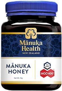 Manuka Health MGO 400+ Manuka Honey 250G, 100% Pure New Zealand Honey