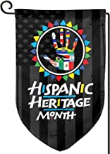 XIAYANGqi Womens National Hispanic Heritage Month Latino Culture Garden Flag Home Flag Outdoor Flags Double Sided Flag