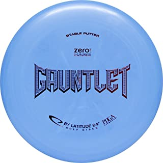 Latitude 64 Zero Line Hard Gauntlet Putt & Approach Golf Disc [Colors May Vary]