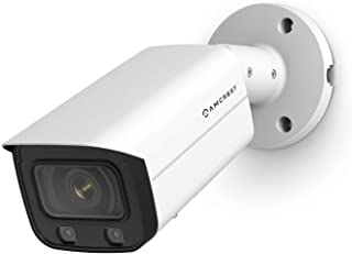 Amcrest NightColor 4MP UltraHD PoE Bullet Camera w/ 66ft Full NightColor, Two-Way Audio, 256GB MicroSD Storage (Sold Separ...