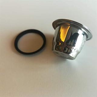 Merk Zwarte Siliconen O-ringen Compatibel met Nespresso Roestvrijstalen Hervulbare Capsules Body Cup (Color : 10 pcs)