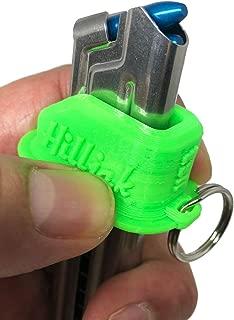 Hilljak Smith & Wesson SW22 Victory, Ruger Mark I, II, III, IV, 22/45, Browning Buck Mark, Beretta U22 Neos 22LR Magazine Loader, 3D Printed Speed Loader Quickie Loader, Neon Green