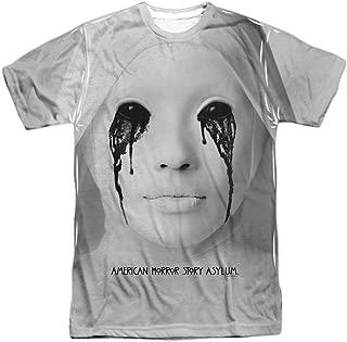 American Horror Story TV Series Asylum Creepy Nun Adult Front Print T-Shirt