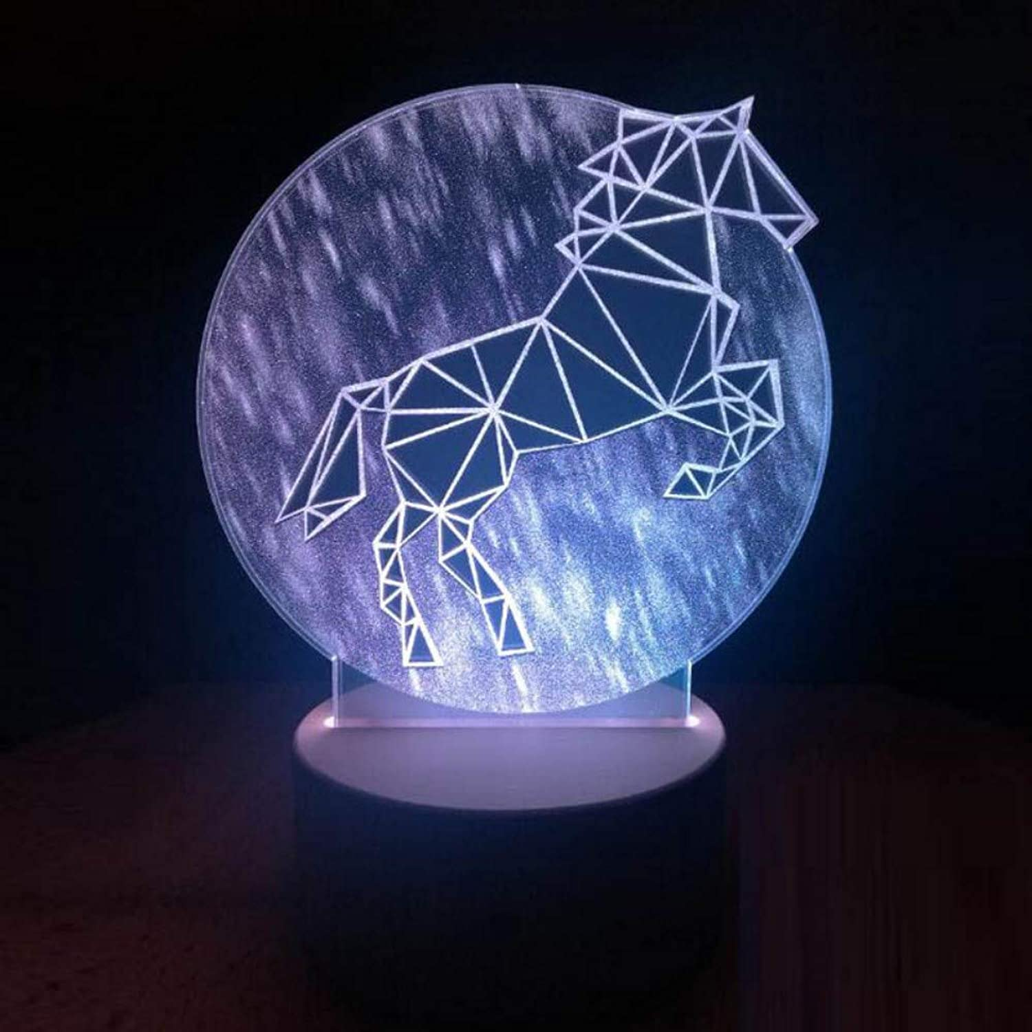 ACED Passing Through time 3D Illusion Illusion Illusion Light Creative Gift Table Lamp Home Decoration Light  3D Night Lights LED Remote  Night Light USB Charger with Remote,Sweaty BMW B07PLFDLP7  | Neue Sorten werden eingeführt  380d28