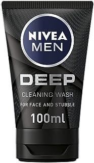 Nivea Men Deep Dimension Yüz & Sakal Temizleme Jeli, 100 Ml
